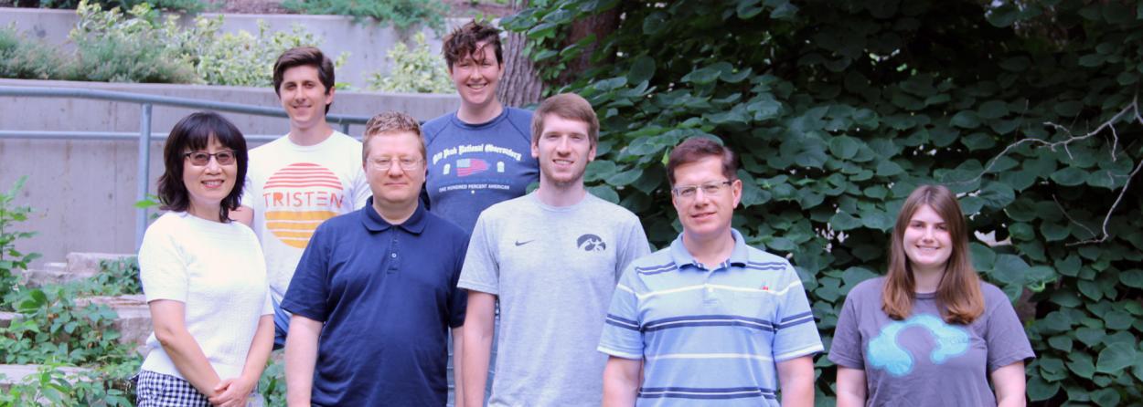 Yuriy Usachev Laboratory lab members